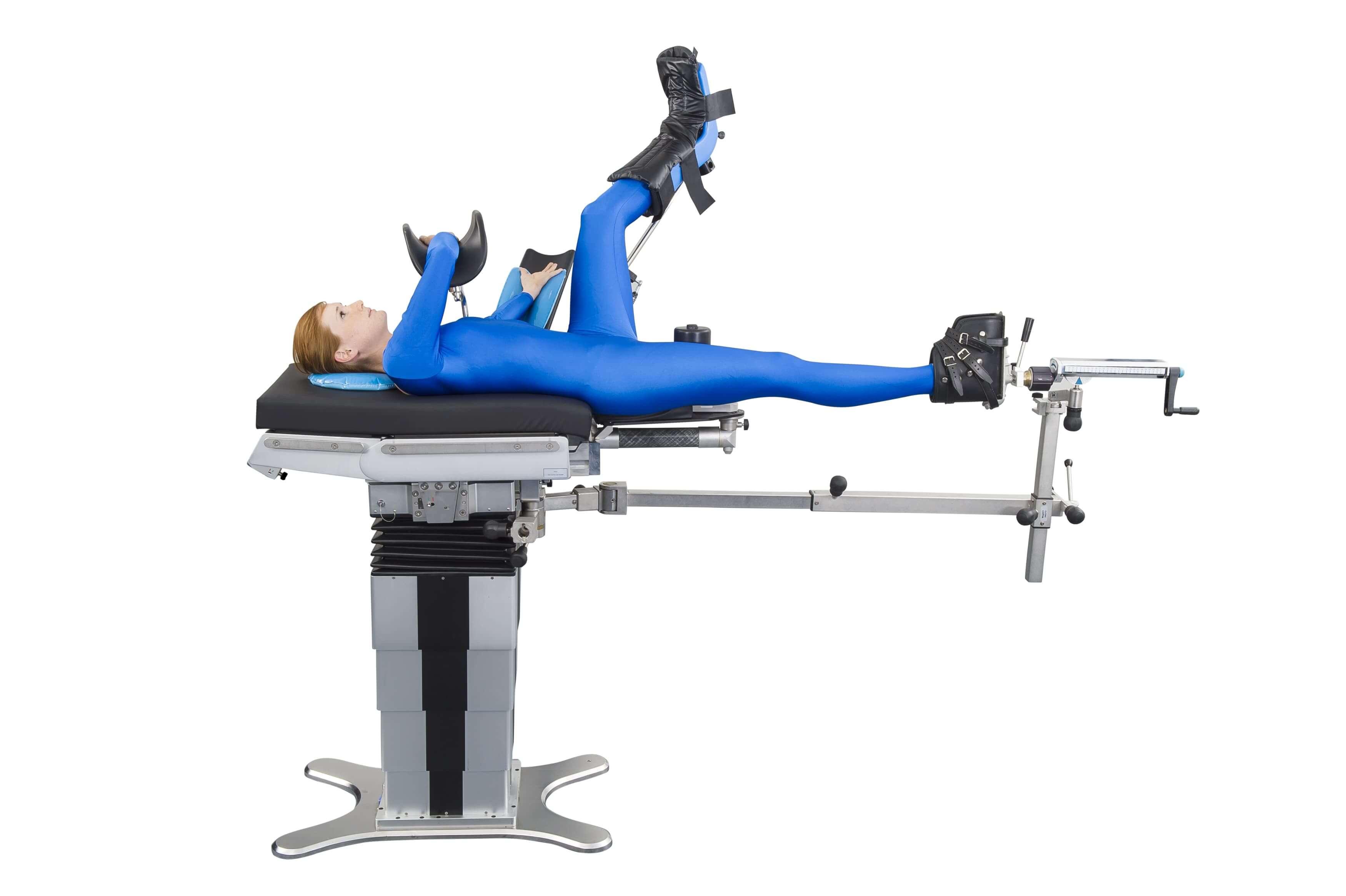 Операционный стол для операции на бедре